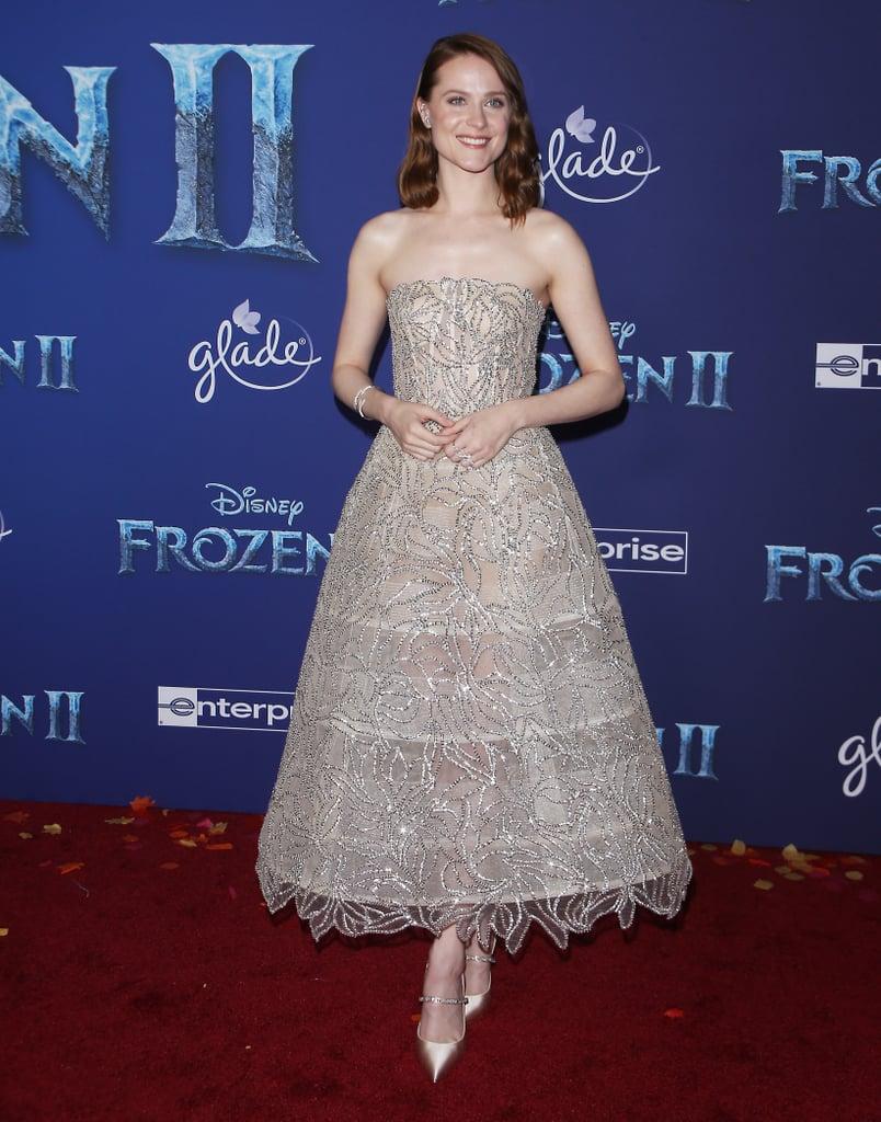 Evan Rachel Wood at the Frozen 2 Premiere in Los Angeles
