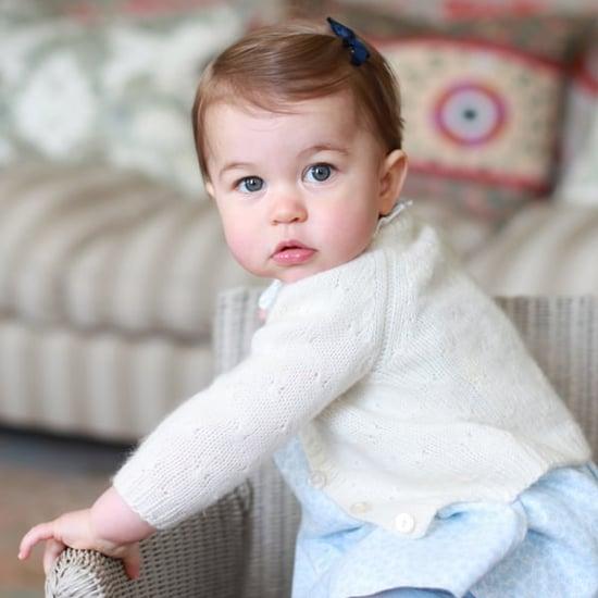 Princess Charlotte's Official Portraits