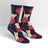 Kitten Knittin' Socks ($11)