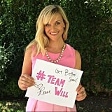 Reese Witherspoon made a sign for a cancer patient named Will. Source: Instagram user reesewitherspoon