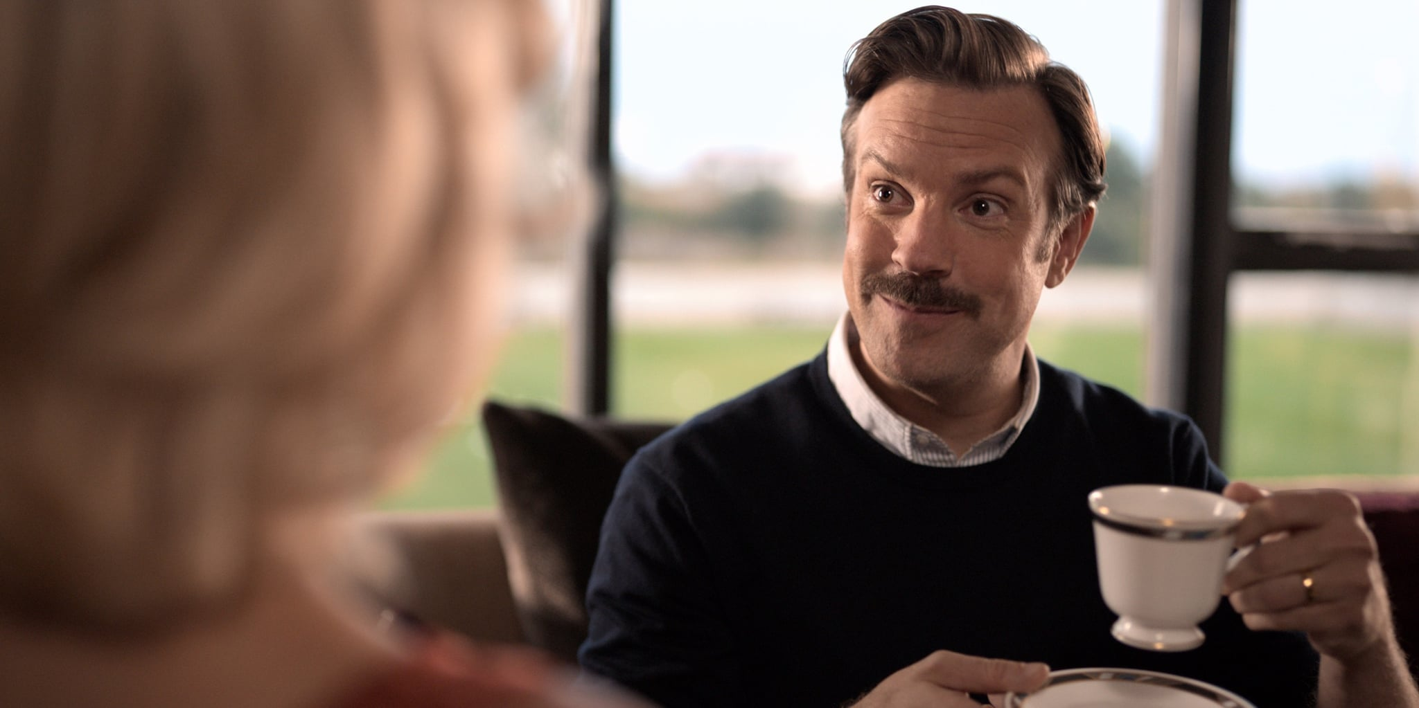 TED LASSO, Jason Sudeikis, 'Pilot',  (Season 1, ep. 101, aired Aug. 14, 2020). photo: Apple TV+ / Courtesy Everett Collection