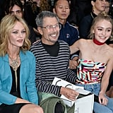 Lily-Rose Depp Paris Fashion Week Pictures 2015