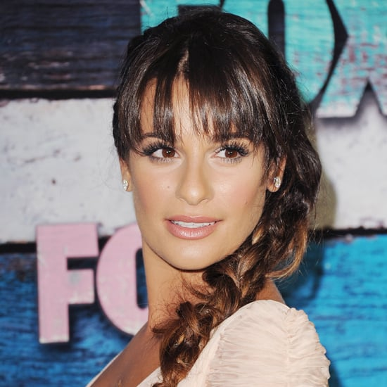 How to Get Lea Michele's Side Braid