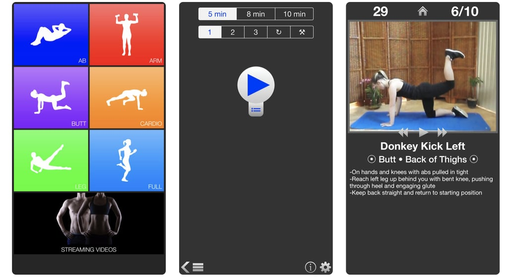 Daily Workouts Fitness Trainer