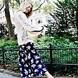 Style Your Sweater With: A Dress, Mules, and a Bag