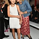 Millie Bobby Brown and Paris Jackson