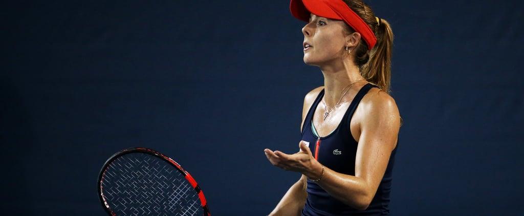Tennis Player Alizé Cornet Dress Code Violation 2018 US Open