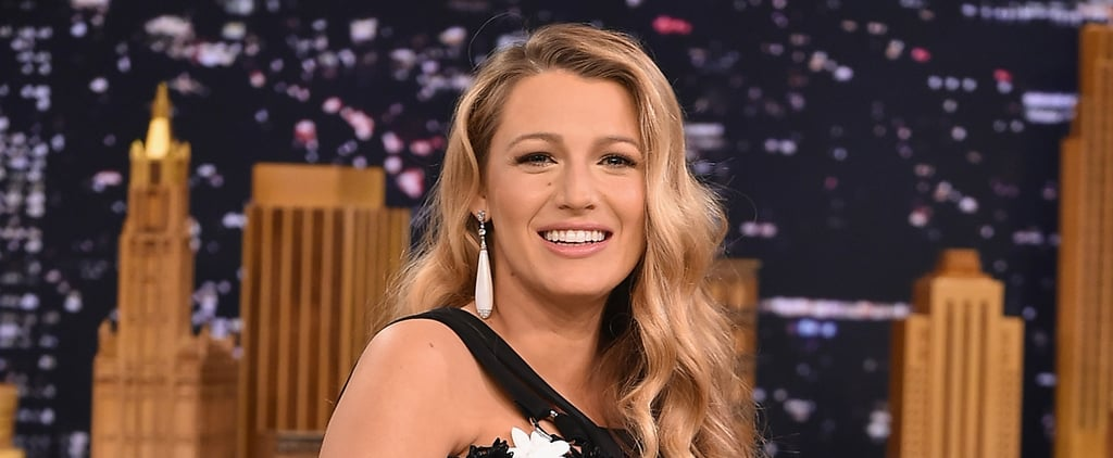Blake Lively on The Tonight Show July 2016