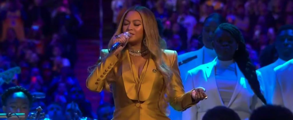 Beyoncé's Performance at Kobe and Gianna Bryant's Memorial