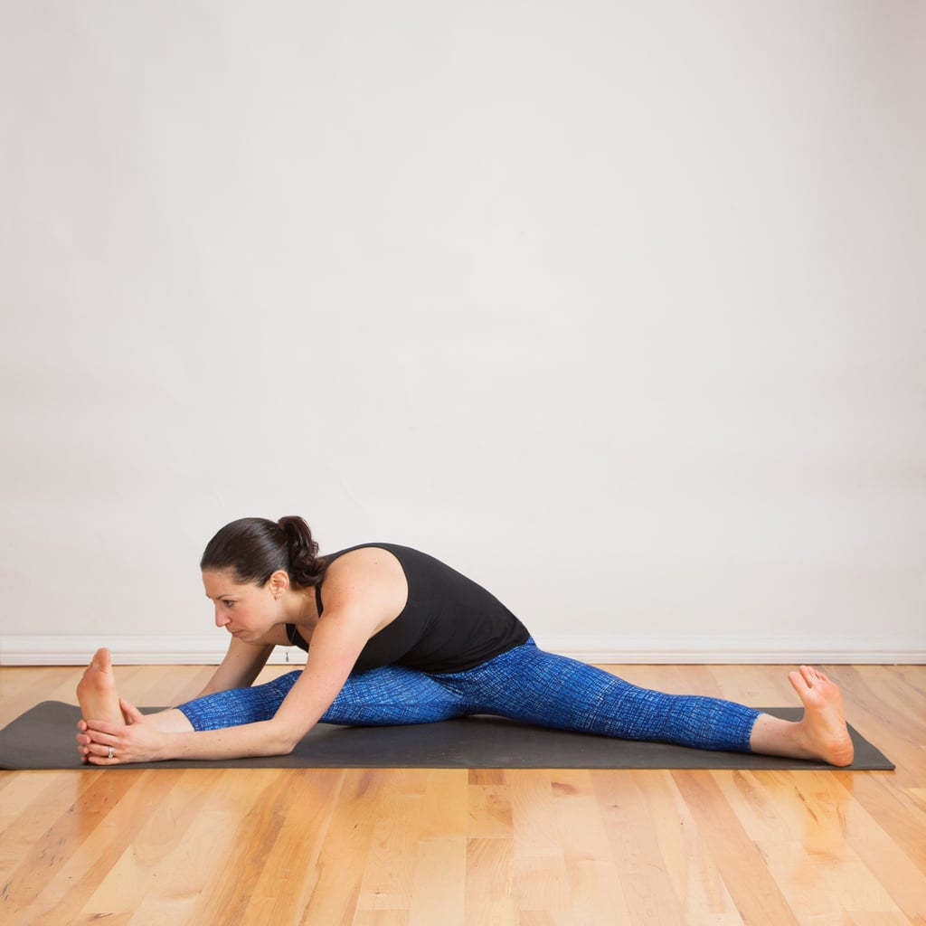 One-Legged Seated Straddle