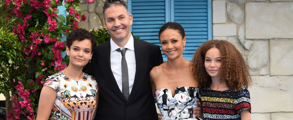 Thandie Newton Family Pictures