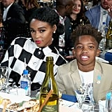 Pictured: Janelle Monae and Jaden Piner