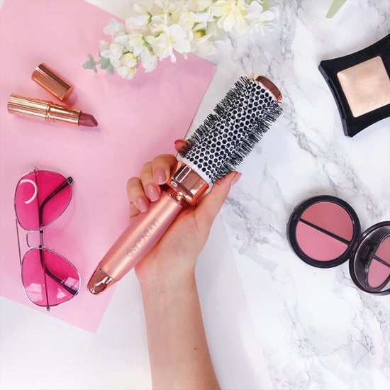 Rose Gold Hairbrushes by Lily England