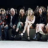 At the Topshop Unique show at London Fashion Week in February 2014, Kendall got front-row placement next to Anna Wintour.