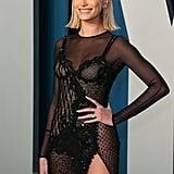 Hailey Bieber's Makeup at the 2020 Oscars