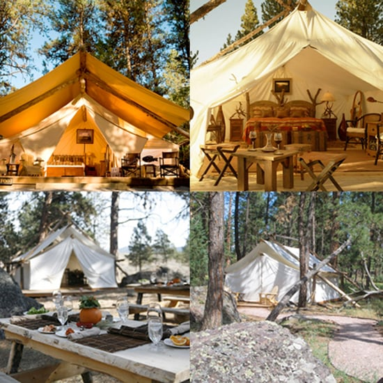 Glamping locations in the united states popsugar fitness for Glamping ideas diy