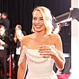 When Margot Robbie Looked Like a Bride in Her Chanel Gown