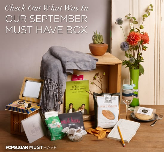 PopSugar Must Have Box For September Contents