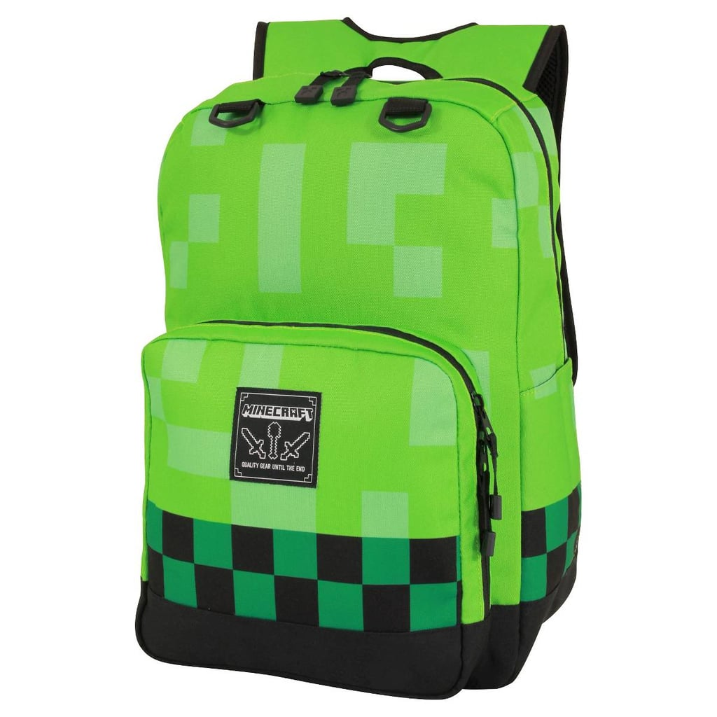 Minecraft Creeper Kids' Backpack | Cool Kids' Backpacks 2017 ...