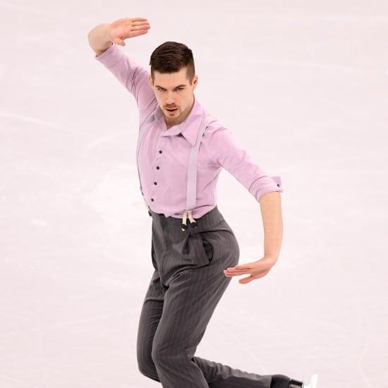"""Paul Fentz Figure Skating to """"Wonderwall"""" 2018"""