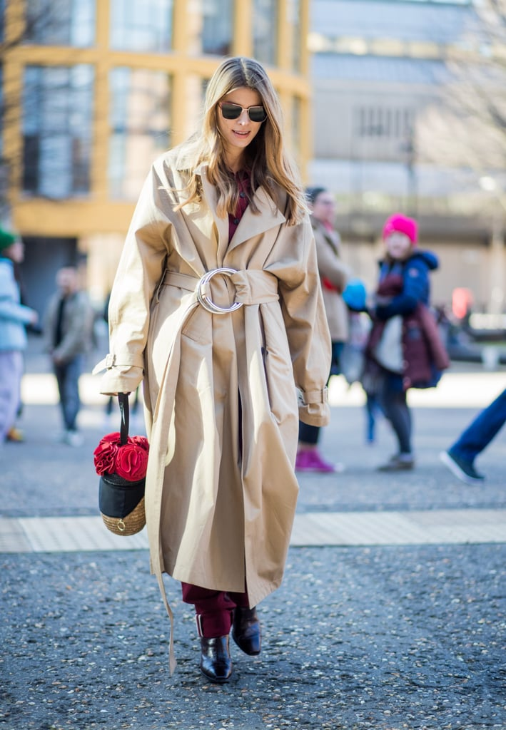 Oversize, With a Cute Bag