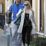 Jessica Simpson was all smiles on a relaxing afternoon with Eric Johnson.