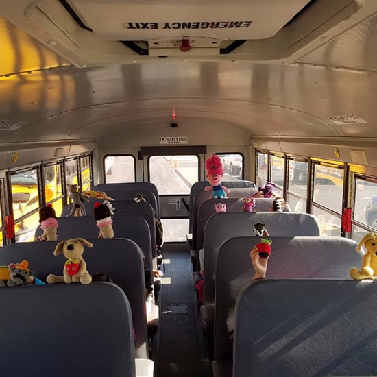 Bus Driver Crochets Toys For Her Students