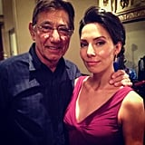 "Whitney Cummings shared this photo with the caption, ""Joe Namath just snapped my neck. I'm in love."" Source: Instagram user whitneyacummings"