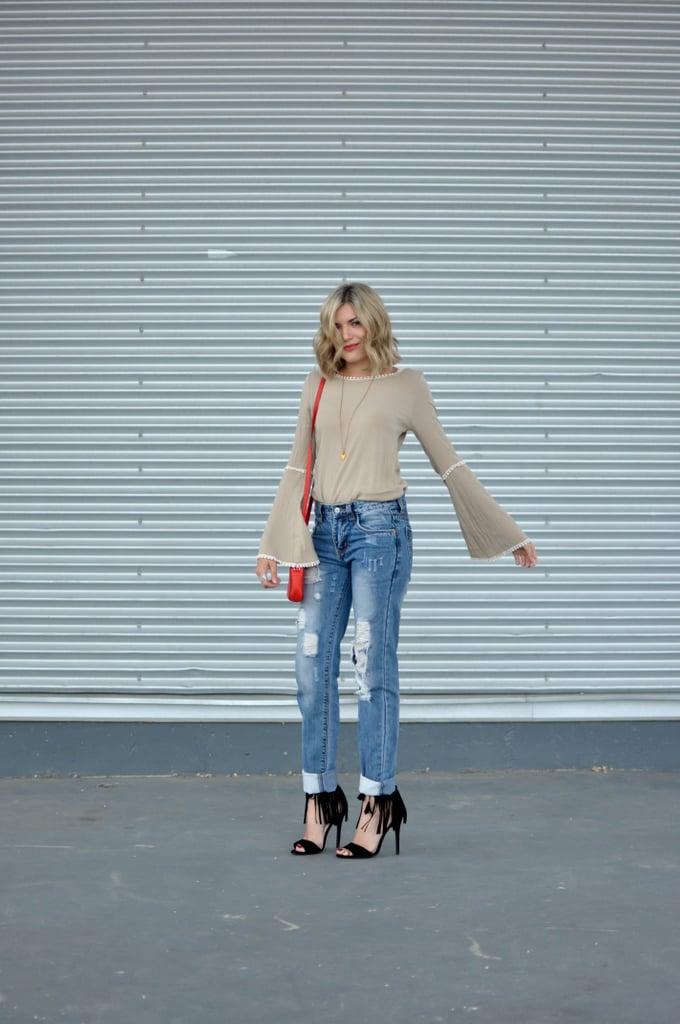 5 Chic Ways to Wear Boyfriend Jeans