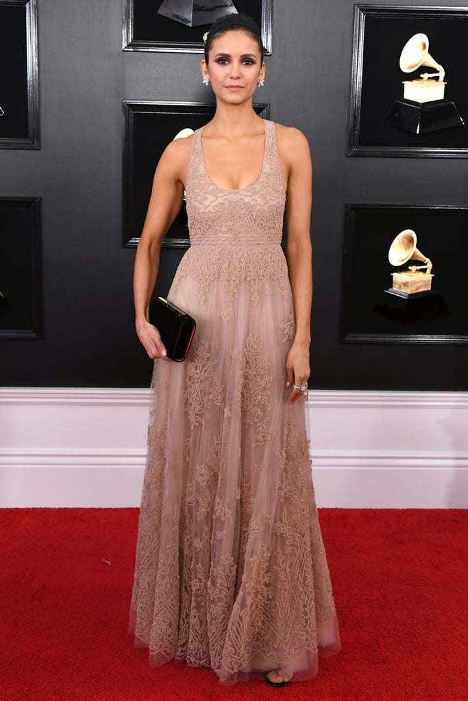 Nina Dobrev at the 2019 Grammy Awards