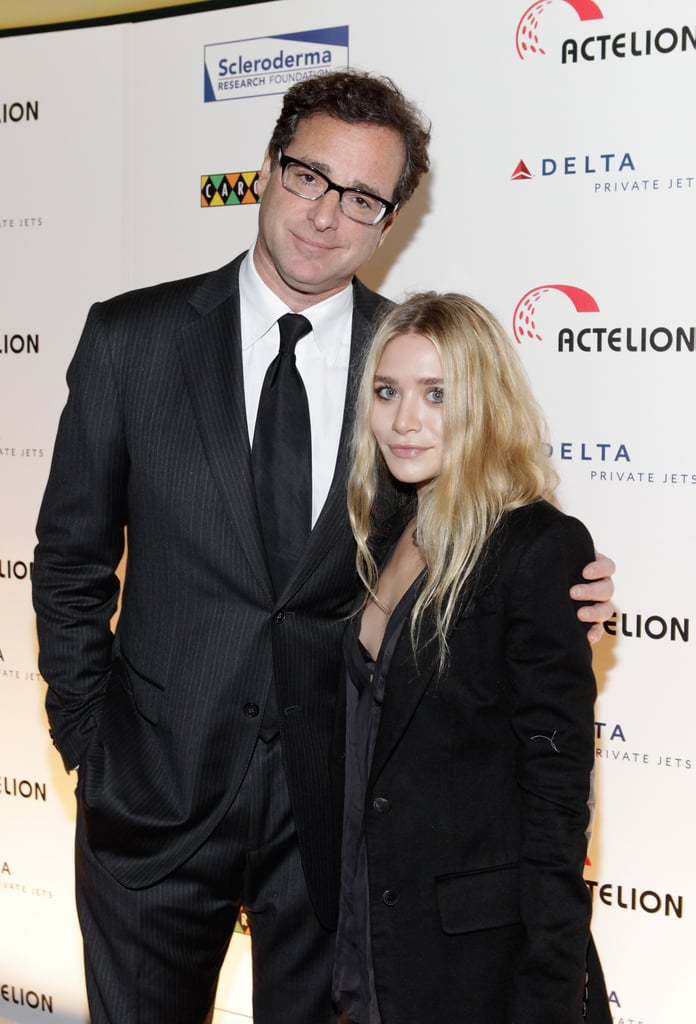 Ashley Olsen showed support for her former Full House costar, Bob Saget, at the annual Cool Comedy — Hot Cuisine for Scleroderma Research Foundation event in NYC last night. Bob, who lost his sister to the disease, hosted the charity evening, which featured performances from comedians Seth Meyers, Colin Quinn, and Jeff Ross. Mary-Kate wasn't on hand for the fundraiser this year, but she and Ashley did their part to help out by donating tickets to a The Row fashion show for the live auction. Also up for grabs was the chance to see the Victoria's Secret Fashion Show, which is being taped tomorrow. We'll be at the annual runway extravaganza, though the full sexy soiree won't air until the end of the month.