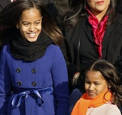 Obama Girls Are Just Gorgeous in JCrew!