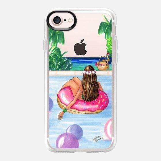 غطاء حماية على هيئة فتاة في حوض السباحة (لعاشقات الصيف) (بسعر 40$ دولار أمريكي؛ 147 درهم إماراتي/ريال سعودي)