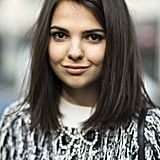 With her texturized lob, Doina Ciobanu was right on trend. Source: Le 21ème | Adam Katz Sinding
