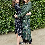 Cindy Crawford and Kaia Gerber Wearing Flowy Printed Dresses in 2018