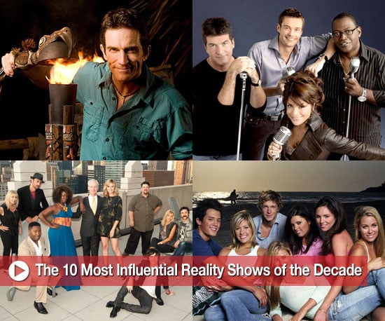 The 10 Most Influential Reality Shows of the Decade 2009-12-17 16:30:35
