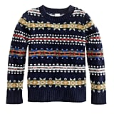 J.Crew Lambswool Fair Isle sweater
