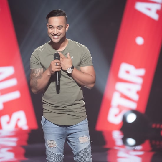 Guy Sebastian's Reaction to Brother Chris on The Voice