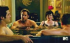 When Mr. Hamilton Crashes Jenna's Hot-Tub Session