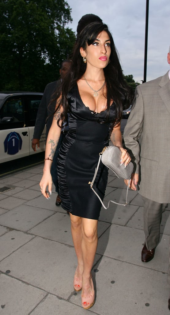 Pictures of Amy Winehouse and Dad Mitch Going To See Tony Bennett