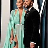 Chrissy Teigen and John Legend at the Oscars 2020 | Pictures