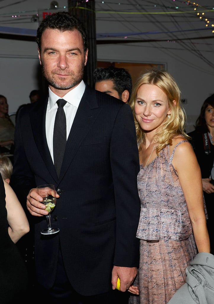 Naomi and Liev Get Close at an Arty Party