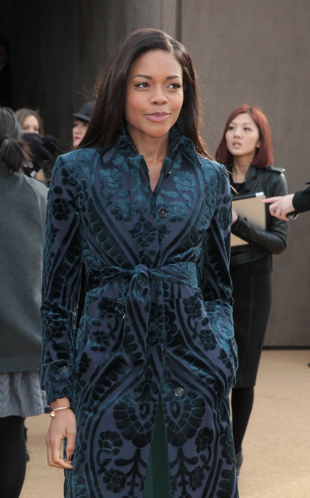 Naomie Harris at Burberry Prorsum