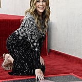 Rita Wilson and Tom Hanks at Walk of Fame Ceremony 2019