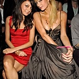 Then-best friends Nicole Richie and Paris Hilton posed together in 2006.