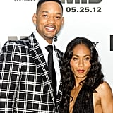 Will Smith and Jada Pinkett-Smith shared smiles for the Men in Black III premiere in NYC.