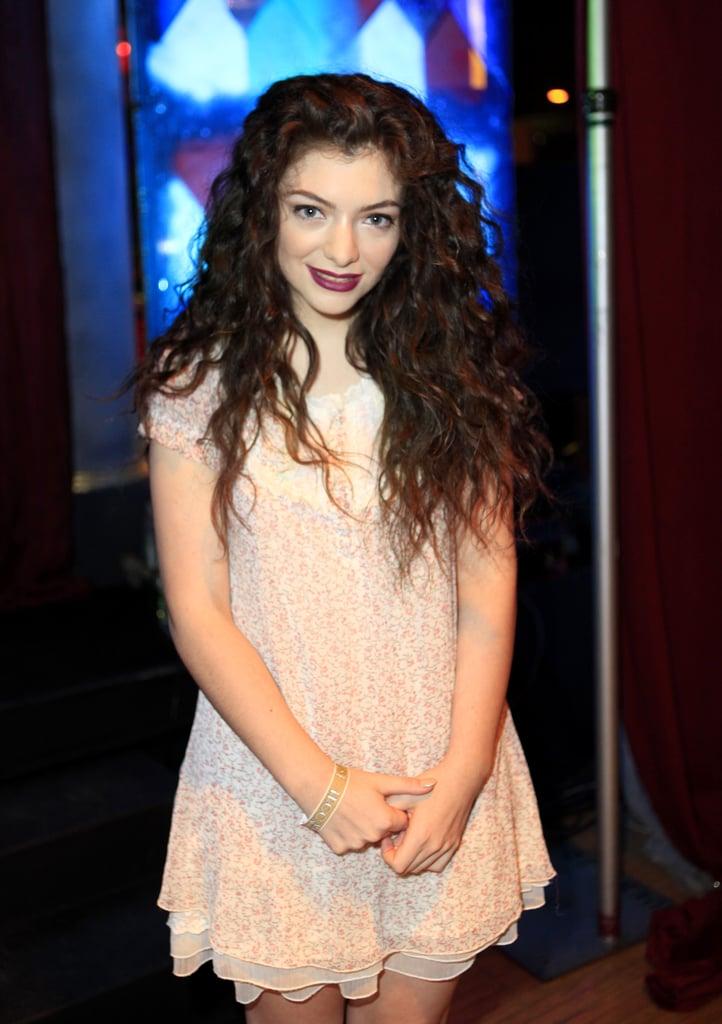 Lorde, 18