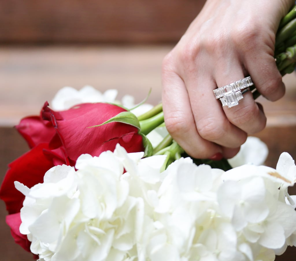 For a Fancy-Shaped Diamond Engagement Ring