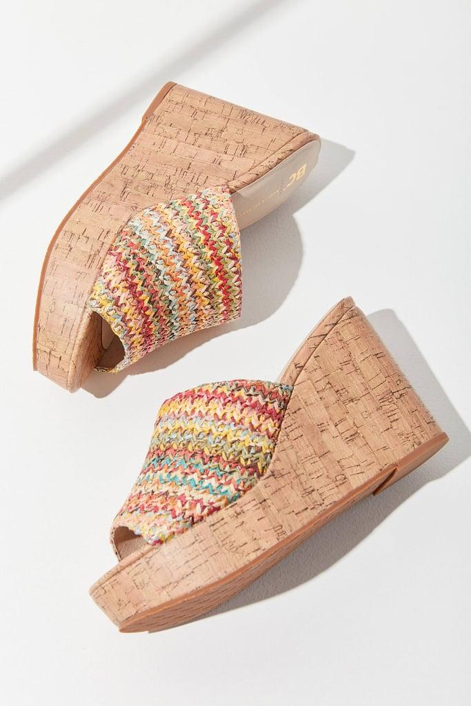 8c130e620445 BC Footwear Perennial Cork Wedges