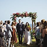 This Relaxed Boho Wedding Had All the Right Elements: Food Trucks, 2 Dogs, and Silent Disco
